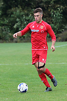 Finn Tapp of MK Dons U18's in action. Finley Tapp is the winner of the Love Island Winter Series in February 2020 with Paige Turley during Gillingham Under-18 vs Milton Keynes Dons Under-18, EFL Youth Alliance Football at Beechings Cross, Gillingham FC Training Ground on 8th October 2016
