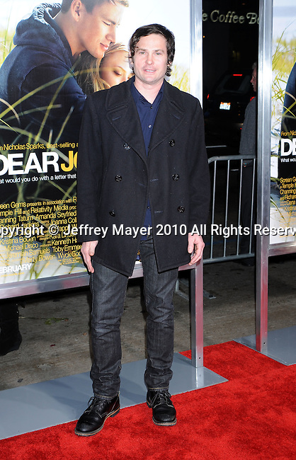 "HOLLYWOOD, CA. - February 01: Henry Thomas arrives at the ""Dear John"" World Premiere held at Grauman's Chinese Theatre on February 1, 2010 in Hollywood, California."