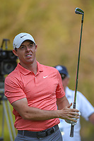 Rory McIlroy (NIR) watches his tee shot on 18 during round 4 of the World Golf Championships, Mexico, Club De Golf Chapultepec, Mexico City, Mexico. 2/24/2019.<br /> Picture: Golffile | Ken Murray<br /> <br /> <br /> All photo usage must carry mandatory copyright credit (© Golffile | Ken Murray)