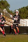 Palos Verdes, CA 03/30/10 - Frankie Arancio (Palos Verdes #11) in action during the Palos Verdes-Peninsula JV Boys Lacrosse game.