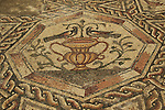 Mosaic floor from the Roman period in Lod
