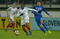 Fejiri Okenabirhie Of England C during Slovakia Under-21 vs England C, International Challenge Trophy Football at Mestsky Stadion on 8th November 2017