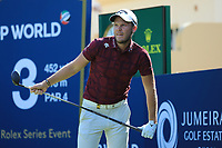 Danny Willett (ENG) during the second round of the DP World Championship, Earth Course, Jumeirah Golf Estates, Dubai, UAE. 22/11/2019<br /> Picture: Golffile | Phil INGLIS<br /> <br /> <br /> All photo usage must carry mandatory copyright credit (© Golffile | Phil INGLIS)
