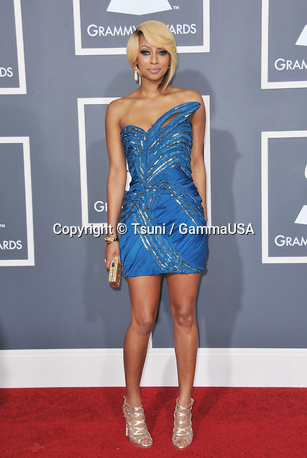 53rd Annual GRAMMY Awards at the Staples Center in Los Angeles.<br /> Keri Hilson _