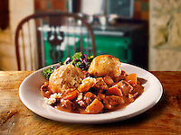 British Food -  Beef stew & dumplins