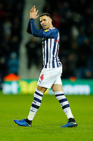 25th February 2020; The Hawthorns, West Bromwich, West Midlands, England; English Championship Football, West Bromwich Albion versus Preston North End; Hal Robson-Kanu of West Bromwich Albion applauds the home fans as he leaves the field after being substituted