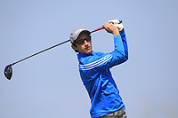 Matais Lezcano (ARG) on the 2nd tee during Round 2 of the East of Ireland Amateur Open Championship 2018 at Co. Louth Golf Club, Baltray, Co. Louth on Sunday 3rd June 2018.<br /> Picture:  Thos Caffrey / Golffile<br /> <br /> All photo usage must carry mandatory copyright credit (&copy; Golffile | Thos Caffrey)