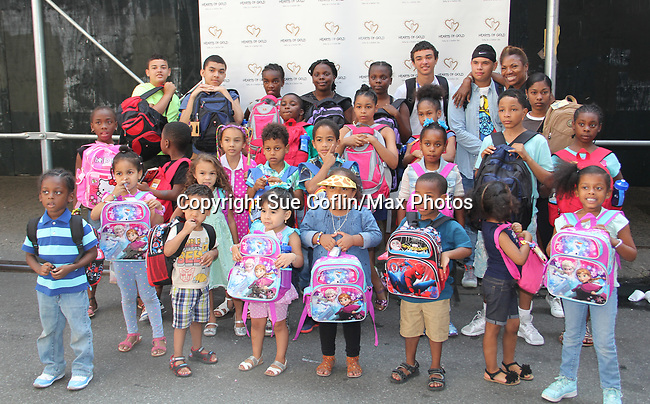 08-26-17 Hearts of Gold Back To School - NYC