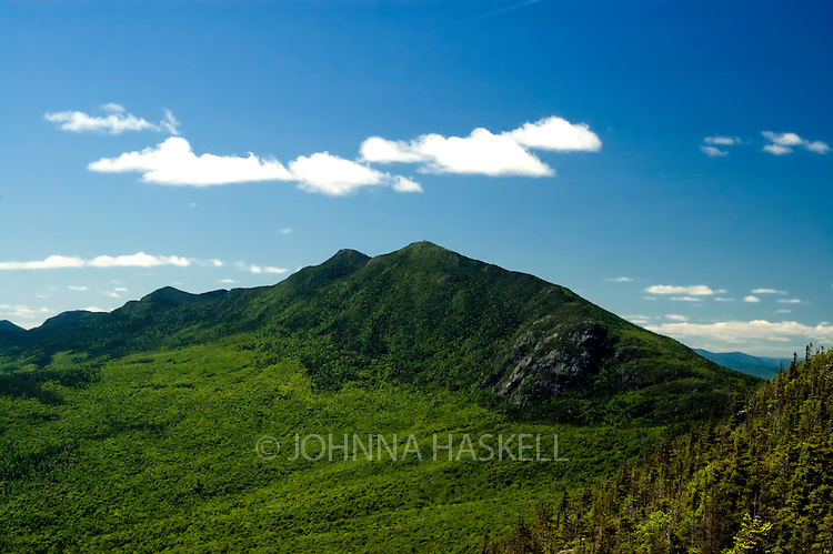 Bigelow Preserve as shown from little Bigelow outlook overlooking Bigelow Ridge in Carrabassett Valley, Maine.