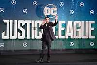Ezra Miller at the photocall for &quot;Justice League&quot;, Southampton Row, London, UK. <br /> 04 November  2017<br /> Picture: Steve Vas/Featureflash/SilverHub 0208 004 5359 sales@silverhubmedia.com