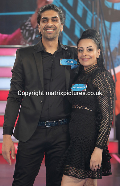 NON EXCLUSIVE PICTURE: MATRIXPICTURES.CO.UK<br /> PLEASE CREDIT ALL USES<br /> <br /> WORLD RIGHTS<br /> <br /> Imran and Sukhvinder Javeed enter the Big Brother House ahead of the new season at Elstree Studios in Hertfordshire, England. <br /> <br /> JUNE 5th 2017<br /> <br /> REF: GBH 171154