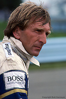 Derek Bell at the 1984 IMSA race at Watkins Glen, New York.