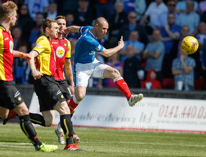 Kenny Miller shoots