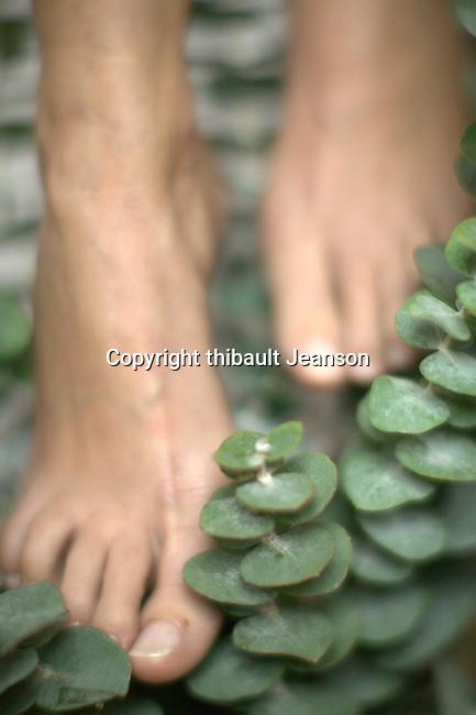 pieds dans la nature? foot in greens