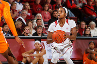 Stanford, CA - Saturday December 16, 2015: Lili Thompson during the Stanford vs Tennessee basketball game Wednesday night at Maples.<br /> <br /> The Cardinal defeated the Volunteers 69-55.<br /> .