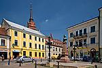 Plac Kazimierza Wielkiego i pomnik Adama Mickiewicza w Tarnowie, Polska<br /> Kazimierz Wielki Square and monument to Adam Mickiewicz in Tarnów, Poland