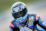 The rider Alex Marquez during the Moto3 race at the Grand Prix Sachsenring in Germany. 13/07/2014. Samuel de Roman / Photocall3000