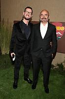 HOLLYWOOD, CA - OCTOBER 10: John Riggi, David Wendelman, at The Los Angeles Premiere of HBO's Camping at Paramount Studios in Hollywood, California on October 10, 2018. Credit: Faye Sadou/MediaPunch