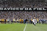 SAO PAULO, SP, 10.05.2014 - JOGO TESTE CORINTHIANS - Torcedores na Arena Corinthians para jogo teste-festivo na regiao leste de Sao Paulo neste sabado, 10. (Foto: Vanessa Carvalho/ Brazil Photo Press).