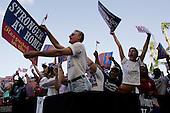 West Palm Beach, Florida.USA.October 29, 2004..Pro Kerry rally.