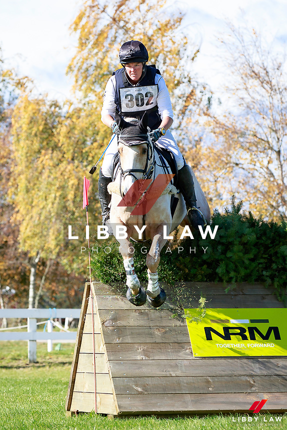 Donna Edwards-Smith rides DSE Mr Hokey Pokey into second position during the NRM CCI3* Championship Cross Country at the 2017 NZL-NRM National Three Day Event Championships. National Equestrian Center, Taupo. Saturday 13 May. Copyright Photo: Libby Law Photography
