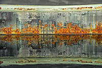 Abstract of old boat