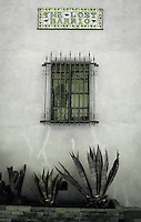 Lost Barrio tile sign - Arizona <br /> *Infrared with green tint