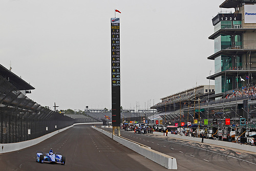 Verizon IndyCar Series<br /> Indianapolis 500 Practice<br /> Indianapolis Motor Speedway, Indianapolis, IN USA<br /> Wednesday 17 May 2017<br /> Scott Dixon, Chip Ganassi Racing Teams Honda<br /> World Copyright: Phillip Abbott<br /> LAT Images<br /> ref: Digital Image abbott_indyP_0517_13885