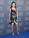 Mackenzie Foy<br />  attends The 20th ANNUAL CRITICS&rsquo; CHOICE AWARDS held at The Hollywood Palladium Theater  in Hollywood, California on January 15,2015                                                                               &copy; 2015 Hollywood Press Agency