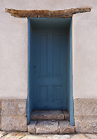 Blue Viga Door - Arizona<br />