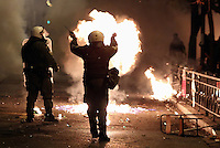 2016 11 17 Riots break out in Athens and Salonica, Greece