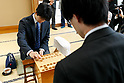 Shogi players Fujii and Kondo face off: 30th Ryuuou tournament group 6