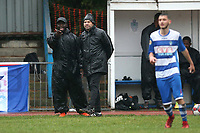 Ilford manager Martin Haywood (C) during Ilford vs Walthamstow, Essex Senior League Football at Cricklefields Stadium on 6th October 2018