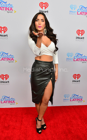 MIAMI, FL - NOVEMBER 07: Maria Elisa Carmargo arrives at iHeart Radio Festival Latina at American Airlines Arena on November 7, 2015 in Miami, Florida. Credit: MPI10 / MediaPunch