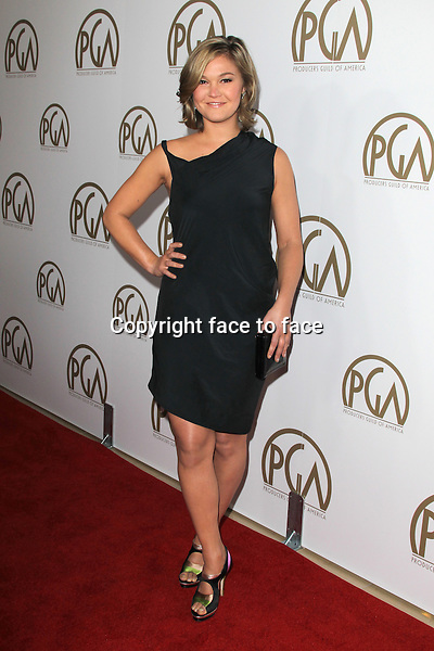 BEVERLY HILLS, CA - JANUARY 26: Julia Stiles (wearing an All Saints little black dress) at the 24th Annual Producers Guild of America Awards at The Beverly Hilton Hotel in Beverly Hills, California...Credit: MediaPunch/face to face..- Germany, Austria, Switzerland, Eastern Europe, Australia, UK, USA, Taiwan, Singapore, China, Malaysia and Thailand rights only -