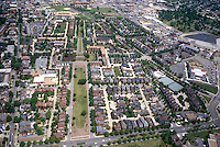 1995 May ..Redevelopment.East Ghent..AERIAL VIEW.LOOKING NORTH.OLNEY ROAD IN FOREGROUND...NEG#.NRHA#..