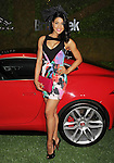 WEST HOLLYWOOD, CA- MAY 02: Actress Sarodj Bertin attends the Jaguar North America and BritWeek present a Villainous Affair held at The London on May 2, 2014 in West Hollywood, California.
