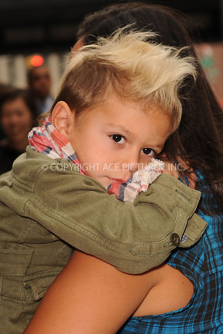 WWW.ACEPIXS.COM . . . . . ....September 10 2009, New York City....Gwen Stefani's son Kingston Rossdale at the L.A.M.B Fashion Presentation at Milk Studios on September 10 2009 in New York City.....Please byline: KRISTIN CALLAHAN - ACEPIXS.COM.. . . . . . ..Ace Pictures, Inc:  ..tel: (212) 243 8787 or (646) 769 0430..e-mail: info@acepixs.com..web: http://www.acepixs.com