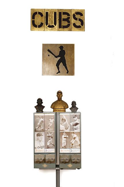 Baseball Collection: Twin Card Vending Machine