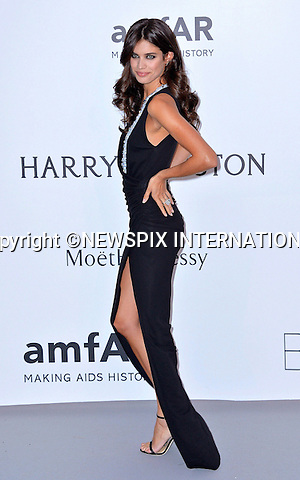 12.05.2015, Antibes; France: SARA SAMPAIO<br /> attends the Cinema Against AIDS amfAR gala 2015 held at the Hotel du Cap, Eden Roc in Cap d'Antibes.<br /> MANDATORY PHOTO CREDIT: &copy;Thibault Daliphard/NEWSPIX INTERNATIONAL<br /> <br /> (Failure to credit will incur a surcharge of 100% of reproduction fees)<br /> <br /> **ALL FEES PAYABLE TO: &quot;NEWSPIX  INTERNATIONAL&quot;**<br /> <br /> Newspix International, 31 Chinnery Hill, Bishop's Stortford, ENGLAND CM23 3PS<br /> Tel:+441279 324672<br /> Fax: +441279656877<br /> Mobile:  07775681153<br /> e-mail: info@newspixinternational.co.uk