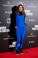 Cristina Piaget attends to 'Morir para contar' film premiere during the Madrid Premiere Week at Callao City Lights cinema in Madrid, Spain. November 13, 2018. (ALTERPHOTOS/A. Perez Meca) /NortePhoto.com