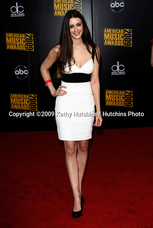 Madeline Zima.The 2009 American Music Awards - Arrivals.Nokia Theatre L.A. Live.Los Angeles, CA.November 22, 2009.©2009 Hutchins Photo....