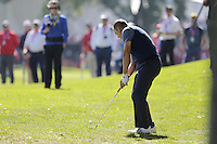 Sergio Garcia (Team Europe) on the 2nd fairway during the Friday afternoon Fourball at the Ryder Cup, Hazeltine national Golf Club, Chaska, Minnesota, USA.  30/09/2016<br /> Picture: Golffile | Fran Caffrey<br /> <br /> <br /> All photo usage must carry mandatory copyright credit (&copy; Golffile | Fran Caffrey)