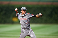 Ben Ramirez (2) of Eastlake High School in Chula Vista, California during the Under Armour All-American Game presented by Baseball Factory on July 23, 2016 at Wrigley Field in Chicago, Illinois.  (Mike Janes/Four Seam Images)