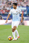 "Malaga CF Gonzalo ""Chory"" Castro during a match of La Liga Santander at Vicente Calderon Stadium in Madrid. October 29, Spain. 2016. (ALTERPHOTOS/BorjaB.Hojas)"