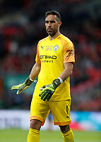 1st March 2020; Wembley Stadium, London, England; Carabao Cup Final, League Cup, Aston Villa versus Manchester City; Goalkeeper Claudio Bravo of Manchester City - Strictly Editorial Use Only. No use with unauthorized audio, video, data, fixture lists, club/league logos or 'live' services. Online in-match use limited to 120 images, no video emulation. No use in betting, games or single club/league/player publications