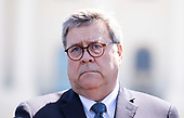 United States Attorney General William P. Barr attends the 38th annual National Peace Officers' Memorial Service, at the U.S. Capitol in Washington, D.C. on May 15, 2019. <br /> Credit: Kevin Dietsch / Pool via CNP