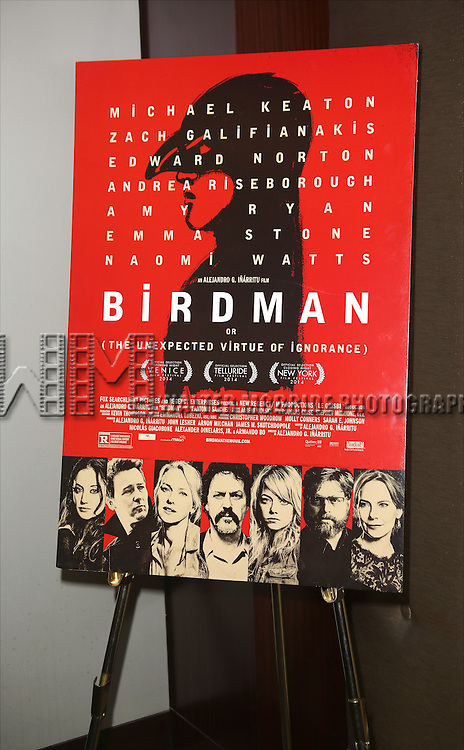 Broadway Industry Screening of 'Birdman' at Dolby 88 on October 13, 2014 in New York City.