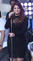 New York,NY- June 21: Meghan Trainor  performs on NBC's 'Today' show at Rockefeller Plaza on June 21, 2016 in New York City. Credit: John Palmer / MediaPunch