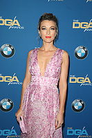 BEVERLY HILLS, CA - FEBRUARY 3: Natalie Zea at the 70th Annual DGA Awards at The Beverly Hilton Hotel in Beverly Hills, California on February 3, 2018. <br /> CAP/MPI/FS<br /> &copy;FS/MPI/Capital Pictures